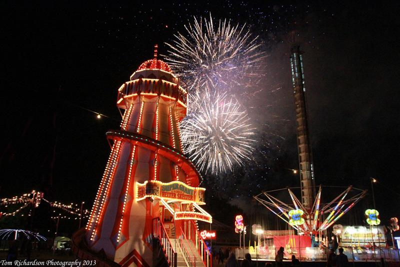 Jubilee Fireworks Isle of Wight Festival Copyright Tom Richardson