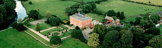 Catton Hall Derbyshire Aerial View