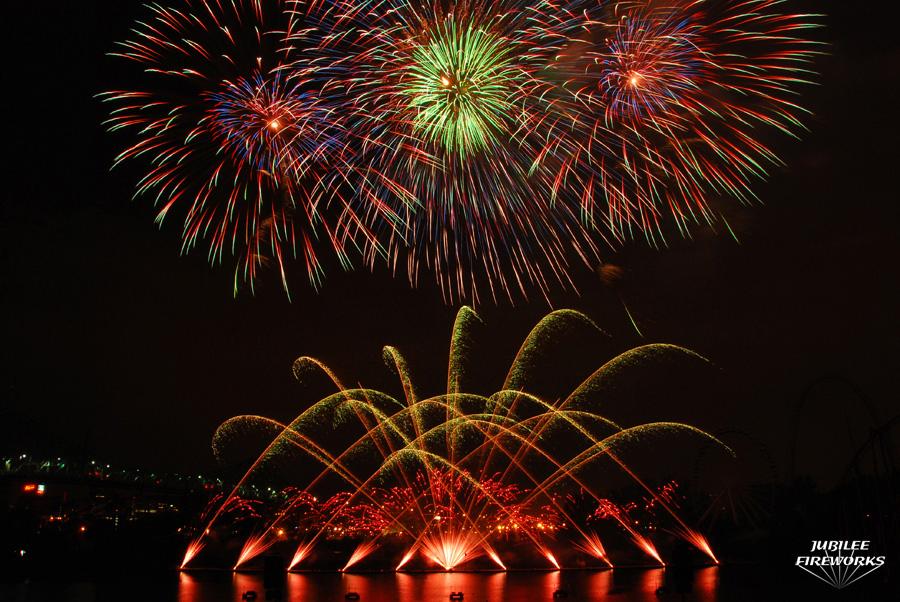 Montreal Fireworks Display