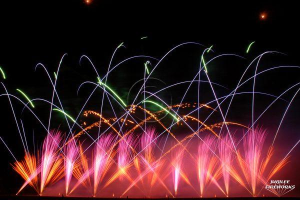 Jubilee Fireworks Festival of Fireworks 2010 1