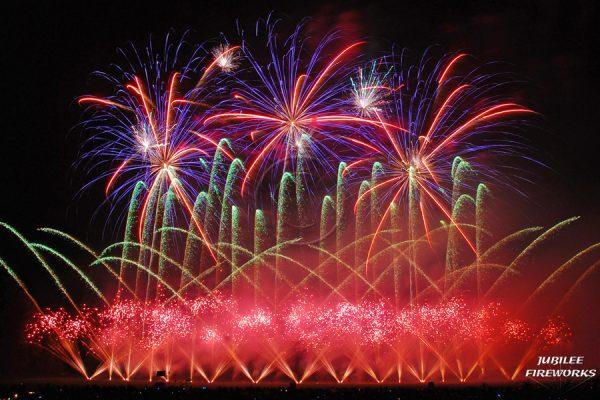 Jubilee Fireworks Festival of Fireworks 2014 1