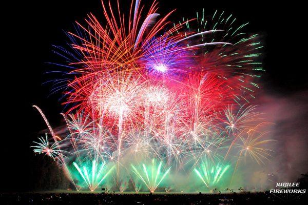 Jubilee Fireworks Festival of Fireworks 2014 4