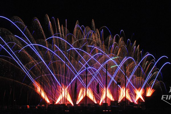 Jubilee Fireworks Knokke Heist Pyromusical Competition 2014 12