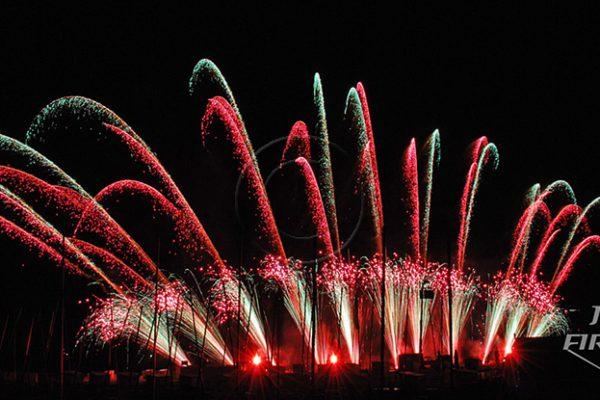 Jubilee Fireworks Knokke Heist Pyromusical Competition 2014 13