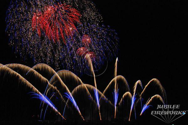 Jubilee Fireworks Knokke Heist Pyromusical Competition 2014 6