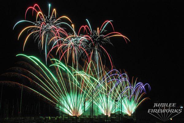 Jubilee Fireworks Knokke Heist Pyromusical Competition 2014 8