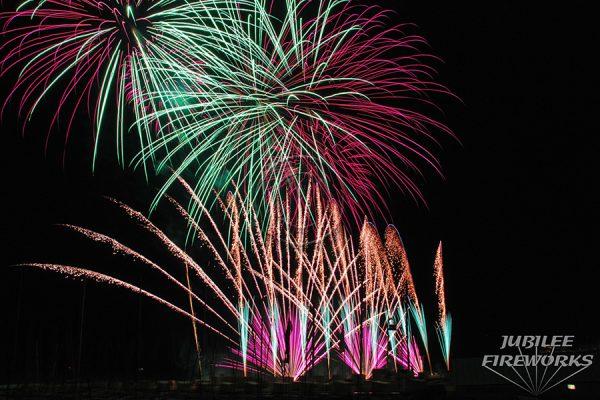 Jubilee Fireworks Knokke Heist Pyromusical Competition 2014 9