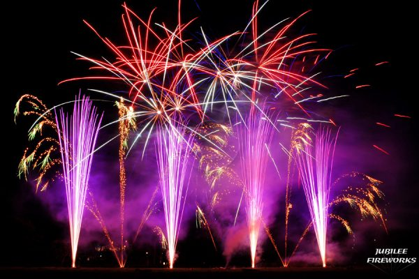 Jubilee Fireworks Wedding Display July 2015 3