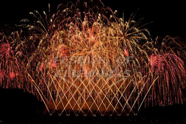 Jubilee Fireworks Festival of Fireworks 2018 5