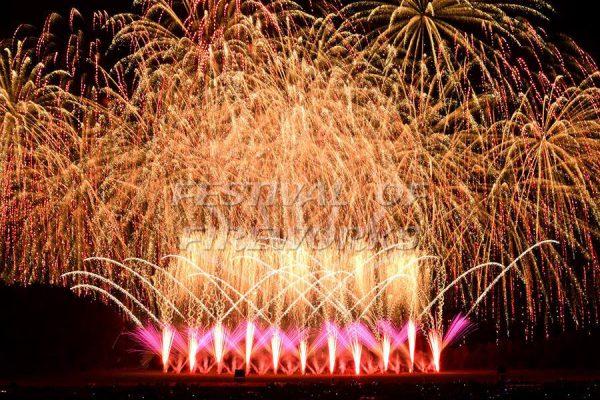 Jubilee Fireworks Festival of Fireworks 2018 6