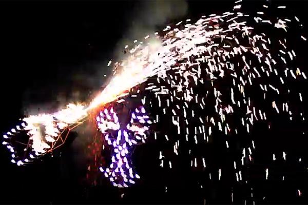 Fireworks Set Piece