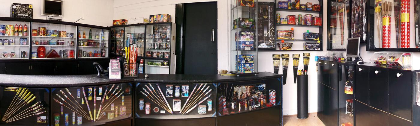 Jubilee Fireworks Shop