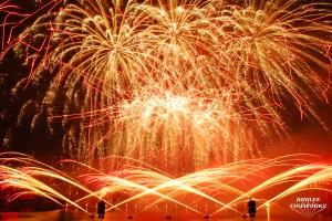 Montreal Winning Fireworks Display