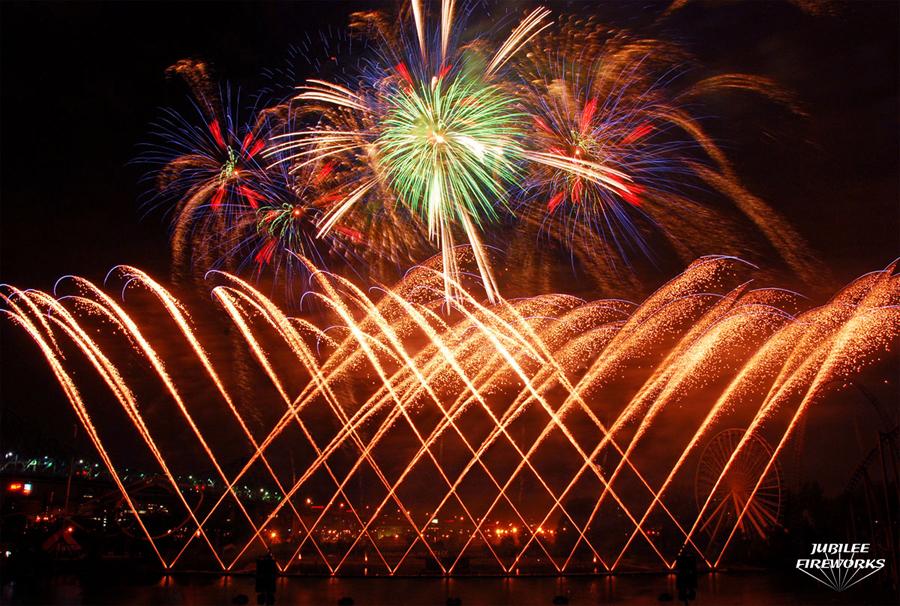 Montreal Fireworks Winning Display
