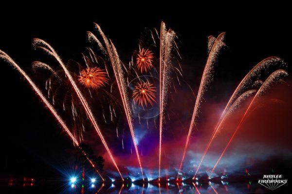 Jubilee Fireworks Alton Towers 2012 3