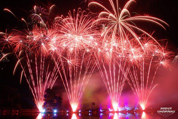 Jubilee Fireworks Alton Towers 2012 4