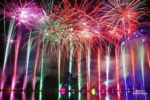 Jubilee Fireworks Alton Towers 2012 7