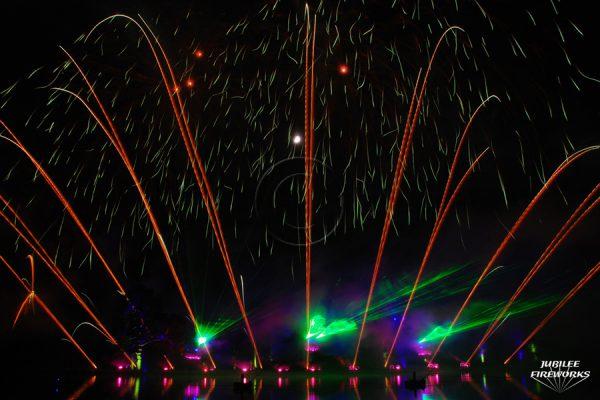 Jubilee Fireworks Alton Towers 2013 2