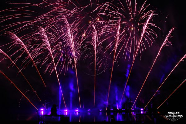 Jubilee Fireworks Alton Towers 2014 1