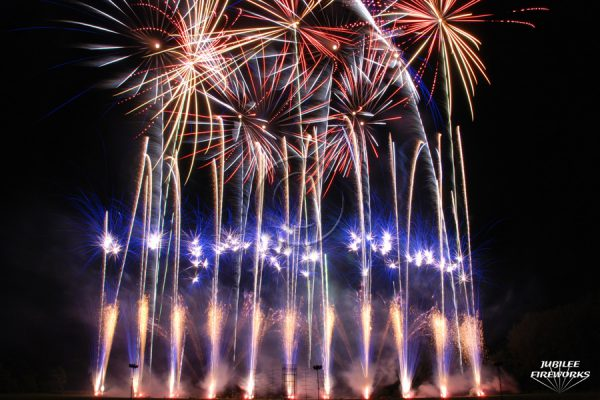 Jubilee Fireworks Festival of Fireworks 2012 1