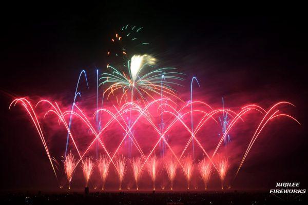 Jubilee Fireworks Festival of Fireworks 2015 2