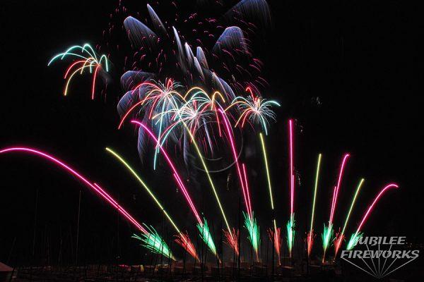 Jubilee Fireworks Knokke Heist Pyromusical Competition 2014 11