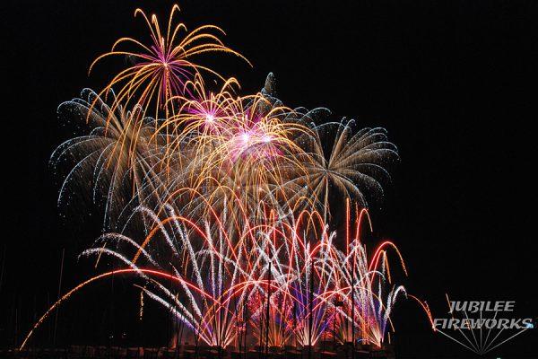 Jubilee Fireworks Knokke Heist Pyromusical Competition 2014 5