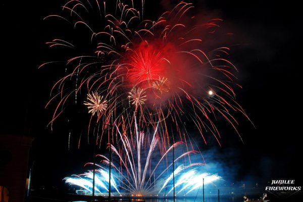 Jubilee Fireworks Monaco International Fireworks Contest 2014 11