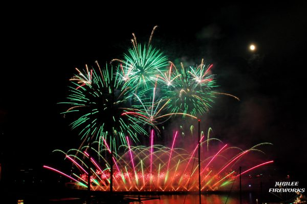 Jubilee Fireworks Monaco International Fireworks Contest 2014 12