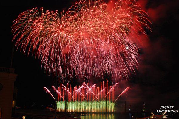 Jubilee Fireworks Monaco International Fireworks Contest 2014 13