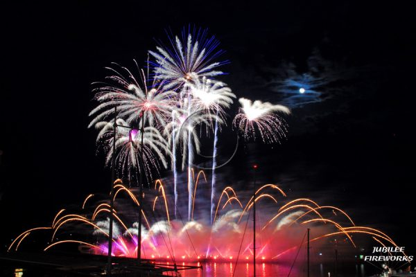 Jubilee Fireworks Monaco International Fireworks Contest 2014 4