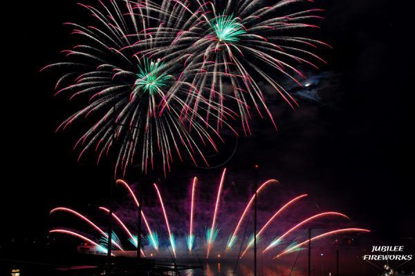 Jubilee Fireworks Monaco International Fireworks Contest 2014 5