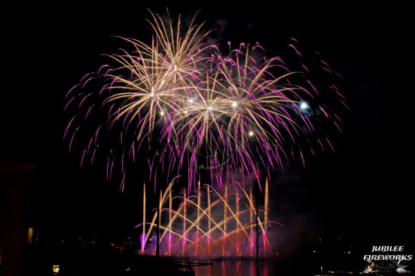 Jubilee Fireworks Monaco International Fireworks Contest 2014 7