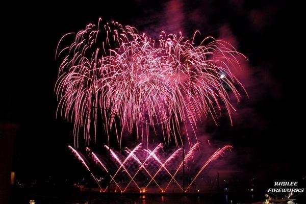 Jubilee Fireworks Monaco International Fireworks Contest 2014 8