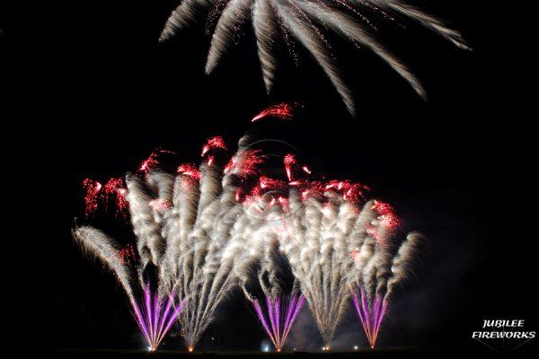 Jubilee Fireworks Wedding Display July 2015 4
